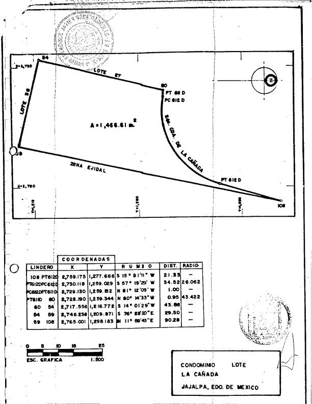 Plano Lt-26-HDA. San Martin